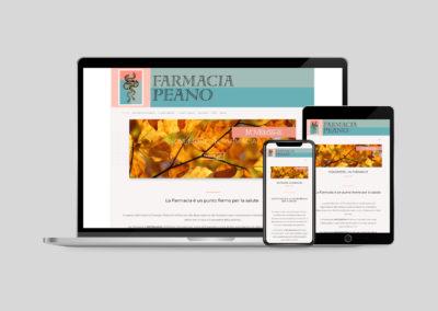 Sito Web Farmacia Peano